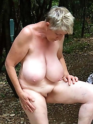 Grannies mostly nude