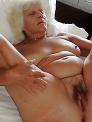 Blonde experienced mistress in ideal shape