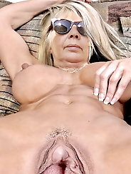 Ultra-sexy mature girlfriends are showing their hot body