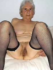 Mature ladies love posing so much