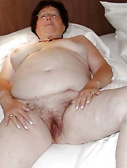 Hot-looking mature grandmother enjoys a huge cock