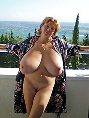 Horny mature mistresses enjoy nudism very much