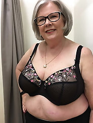 Bbw sexy granny with big natural tits belly slut gilf milf