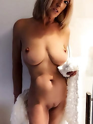 Classy-looking mature whores with hairy vagina