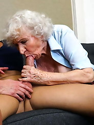 Older and hot 165 (Granny, mom and son)